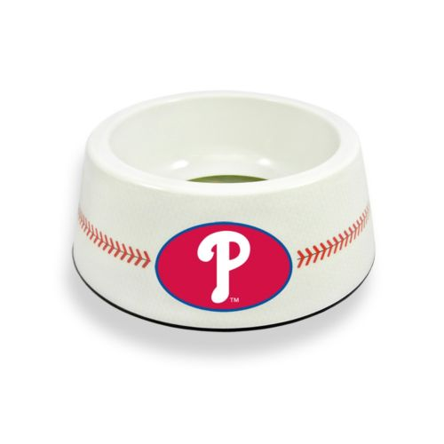 GameWear Philadelphia Phillies Classic Baseball Pet Bowl
