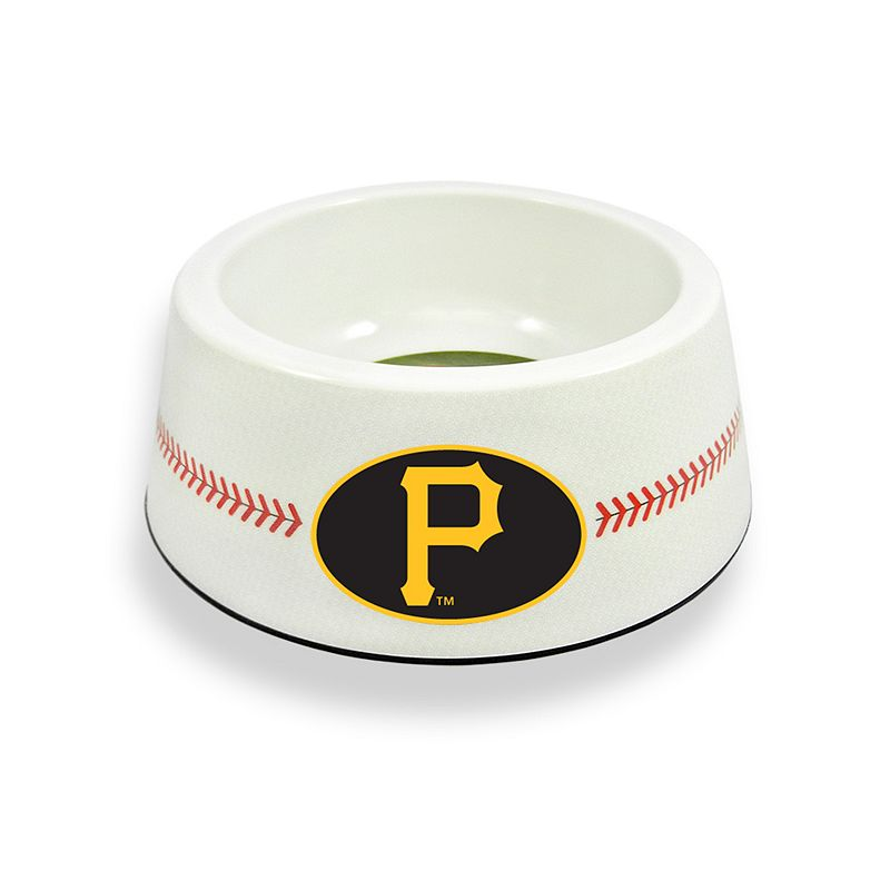 GameWear Pittsburgh Pirates Classic Baseball Pet Bowl