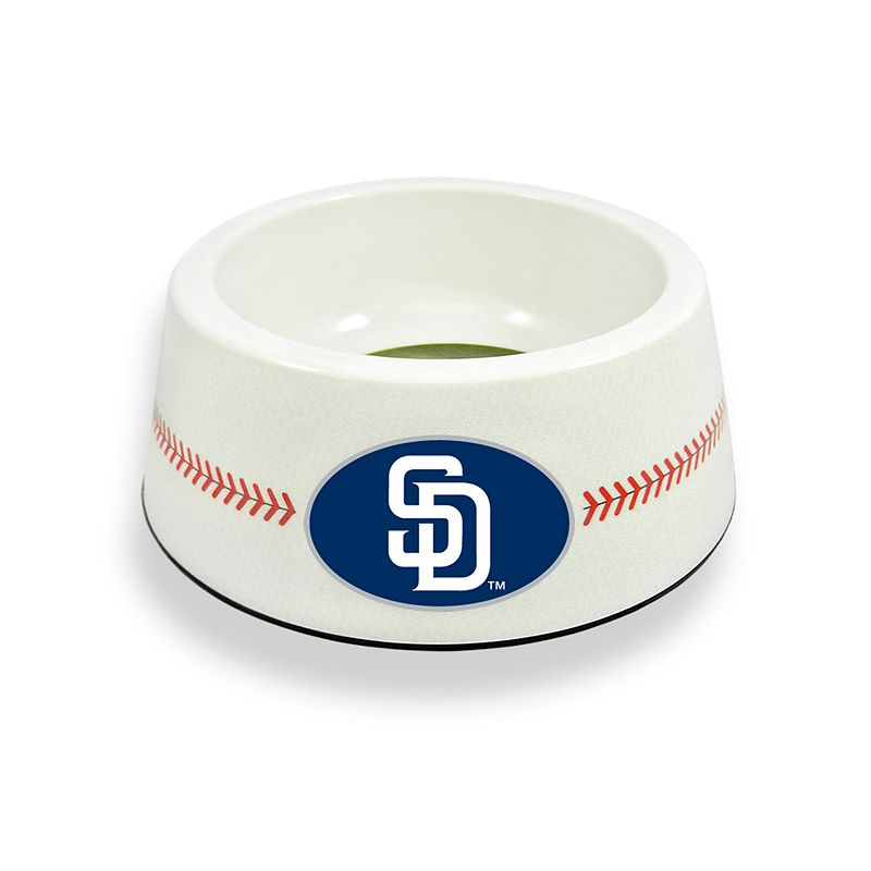 GameWear San Diego Padres Classic Baseball Pet Bowl
