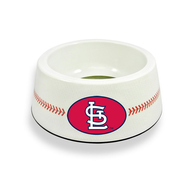 GameWear St. Louis Cardinals Classic Baseball Pet Bowl
