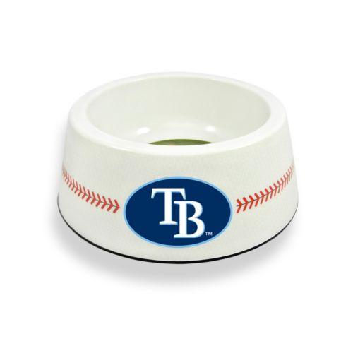 GameWear Tampa Bay Rays Classic Baseball Pet Bowl