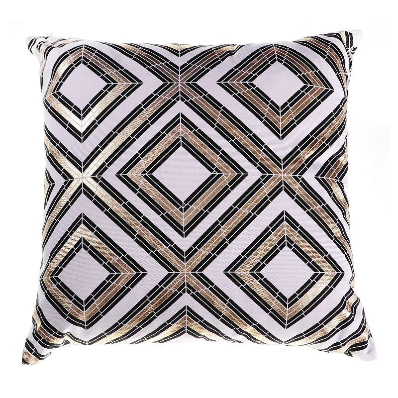 18x18 Black Throw Pillow Kohl s