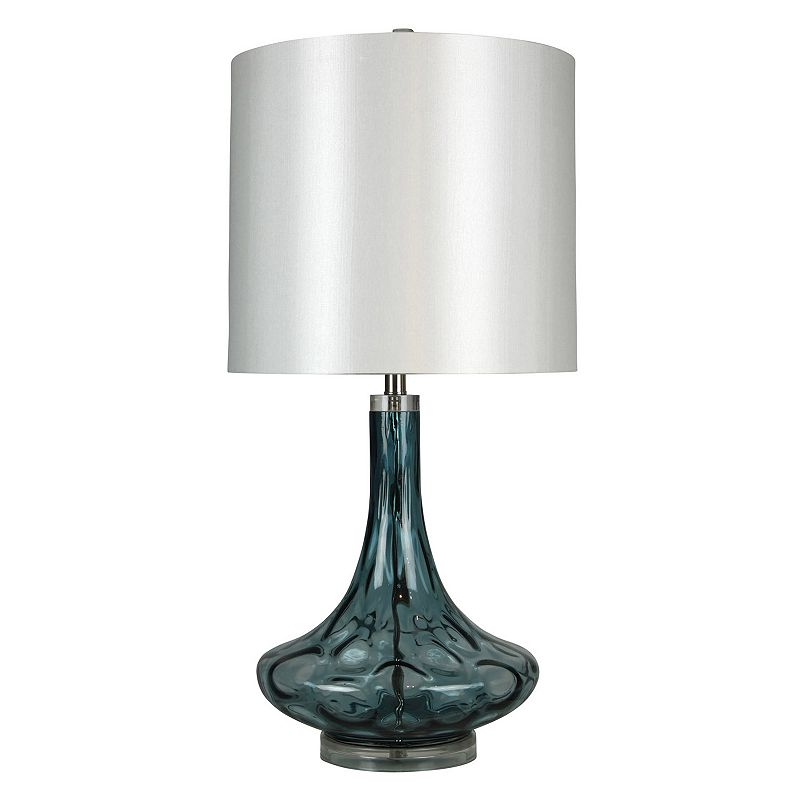 Swirl Glass Table Lamp