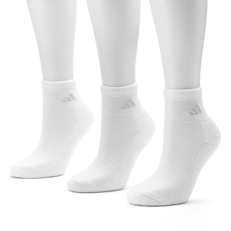 adidas 3-pk. ClimaLite Variegated Ankle Socks - Women