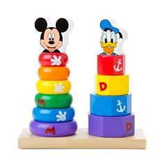 Disney Mickey Mouse & Friends Wooden Stackers by Melissa & Doug by