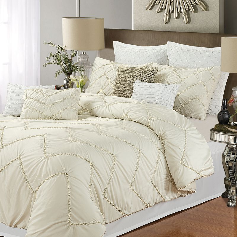 Isabella Chevron 5-pc. Comforter Set