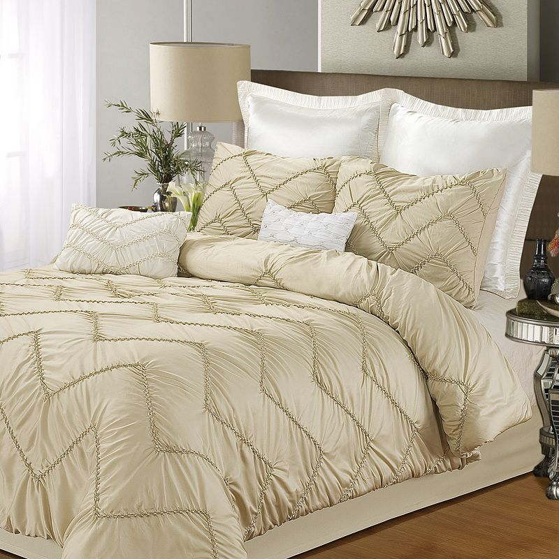 Isabella Champagne 5-pc. Comforter Set