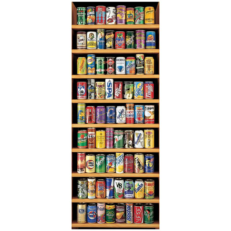 Soft Drink Cans 2,000-pc. Jigsaw Puzzle