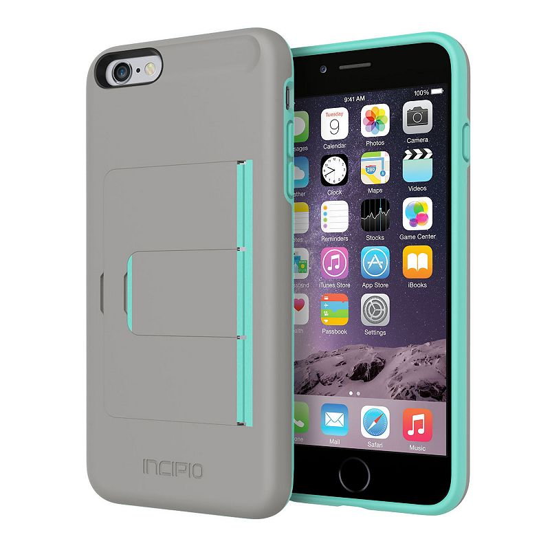 Incipio Stowaway Advance iPhone 6 Plus Cell Phone Case