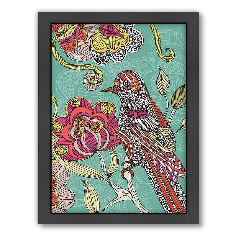 Americanflat ''Beatriz'' Bird Framed Wall Art
