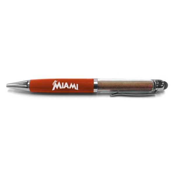 Steiner Sports Miami Marlins Dirt Pen with Authentic Dirt from Marlins Park