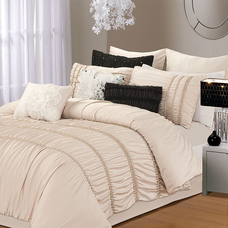 Romantica Taupe 5-pc. Comforter Set