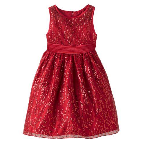 Princess Faith Sequin Dress - Girls 4-6X