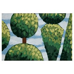 Trans Ocean Imports Liora Manne Visions IV Topiary Doormat 20'' x 29 1/2''