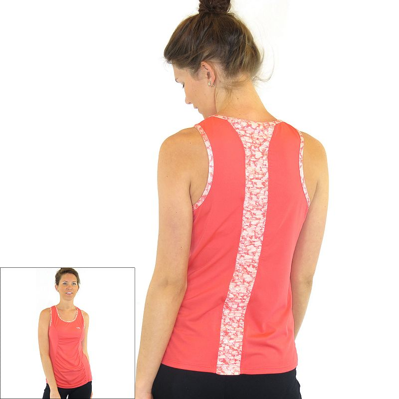 Plus Size Ryka Inspire Shirred Yoga Tank
