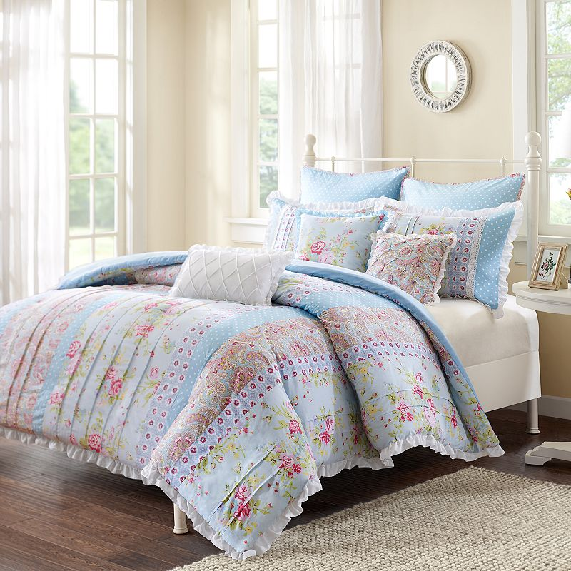 Floral Ruched Bedding Kohl S