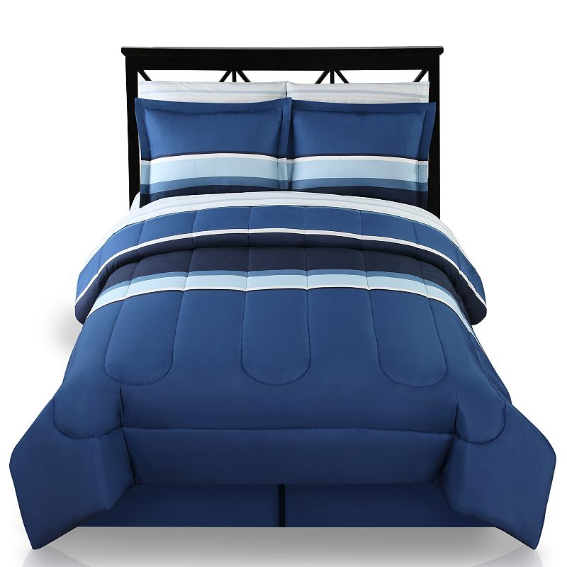 The Big One® Colorblock Reversible Bed Set