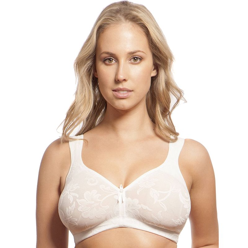 Lunaire Bra: Versailles Wireless Full-Figure Full-Coverage Bra 13214 - Women's