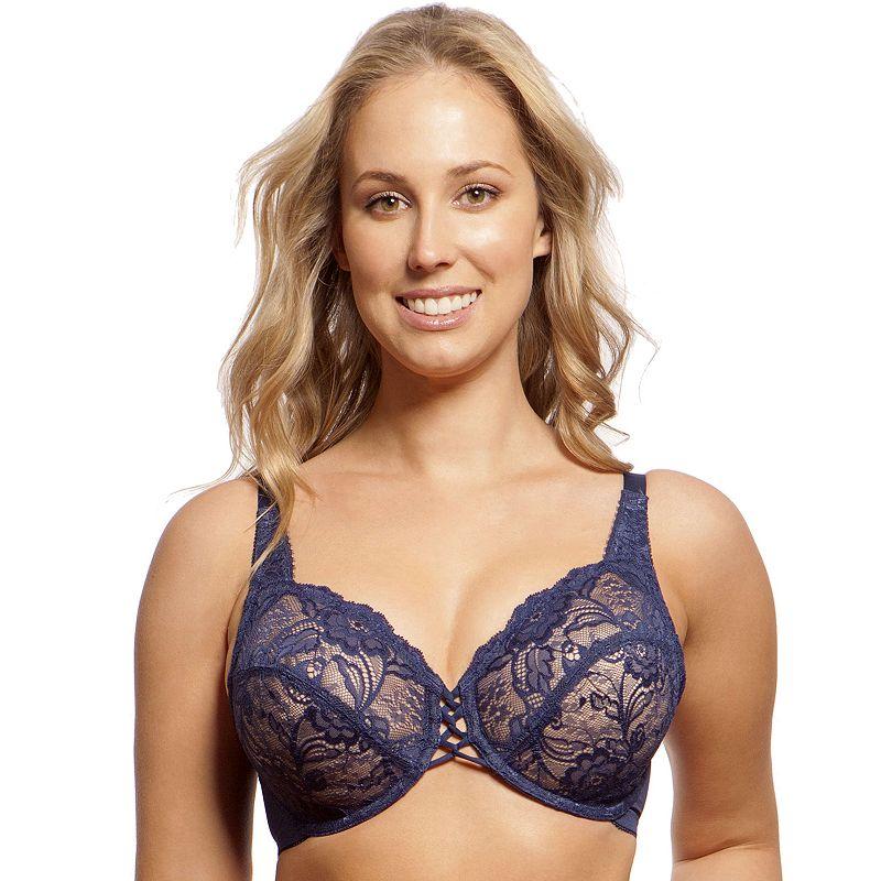 Lunaire Bra: Full-Figure Lace Bra 27311 - Women's