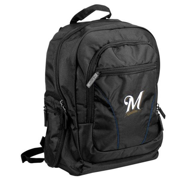 Logo Brand Milwaukee Brewers Stealth Backpack