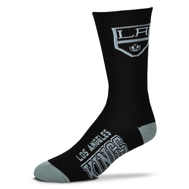 Adult For Bare Feet Los Angeles Kings Team Color Crew Socks