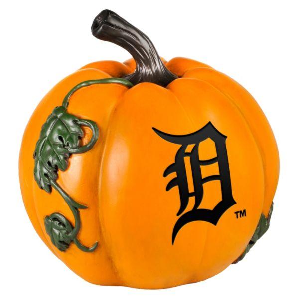 Detroit Tigers Logo Pumpkin