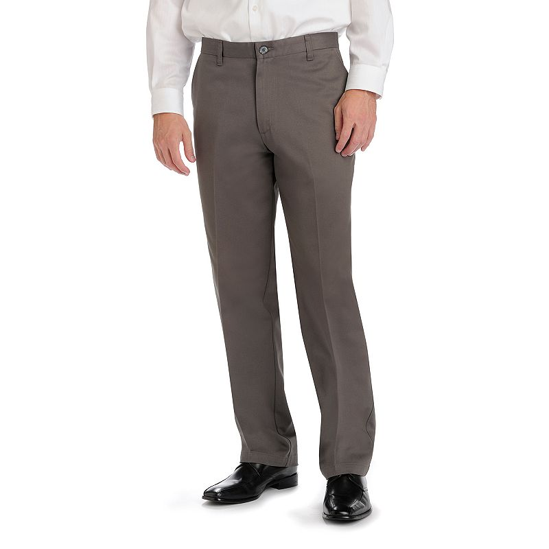 Men's Lee Straight-Fit No-Iron Flat-Front Pants