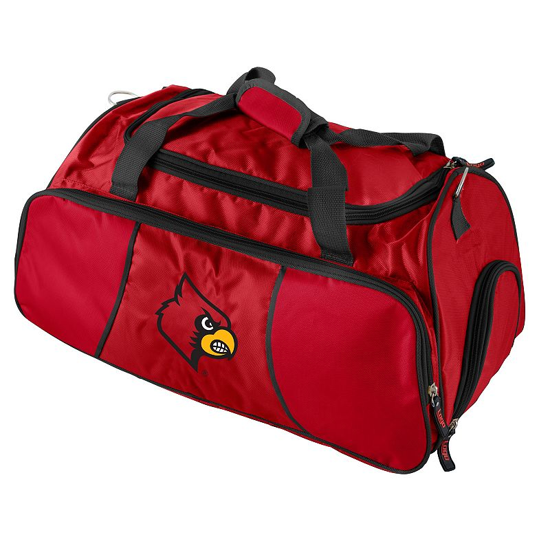 Logo Brand Louisville Cardinals Athletic Duffel Bag