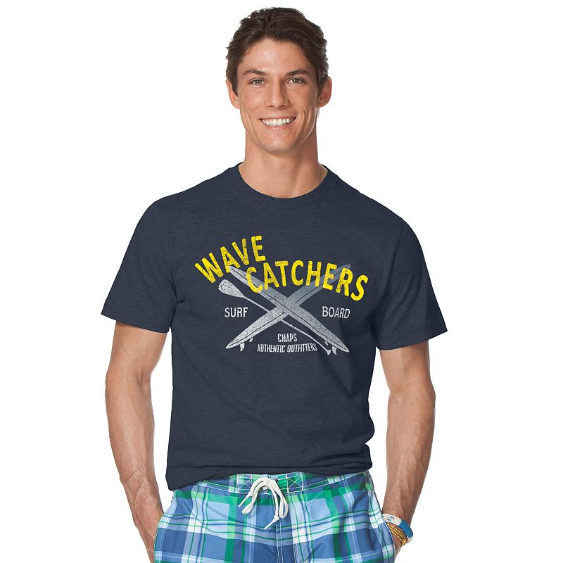 Men 39 s chaps wave catchers tee for Chaps shirts on sale
