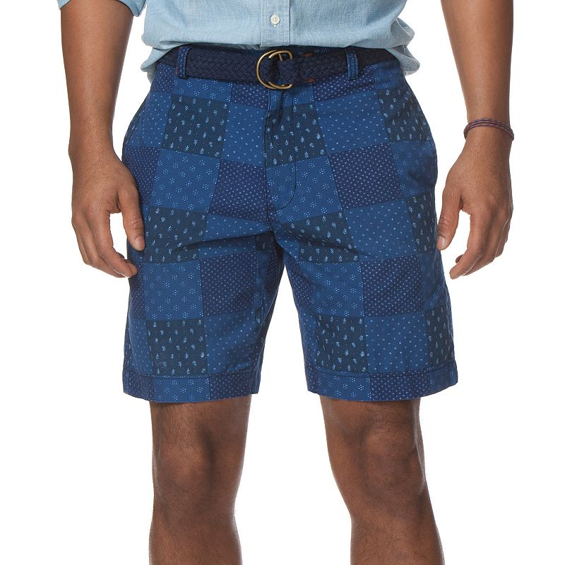 Big & Tall Chaps Classic-Fit Flat-Front Shorts