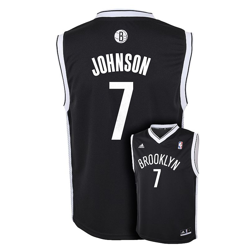 Boys 8-20 adidas Brooklyn Nets Joe Johnson Black NBA Jersey