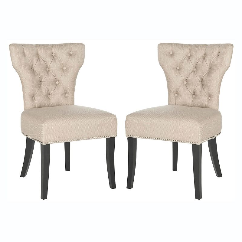 Safavieh 2-piece Dharma Tufted Side Chair Set