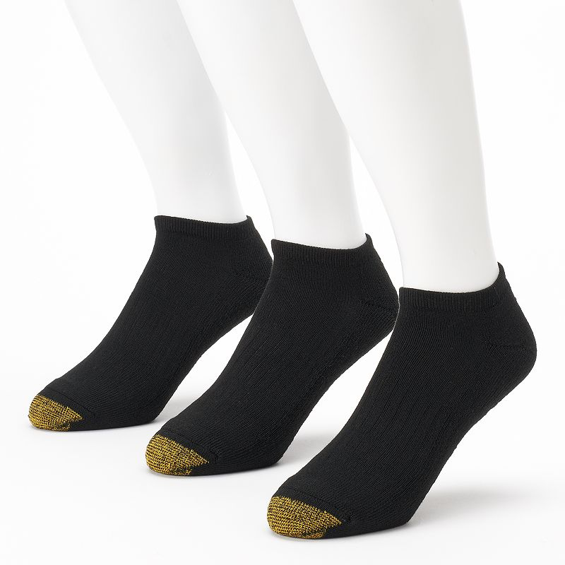 Men's GOLDTOE 3-pack Arch 360 Endurance No-Show Socks