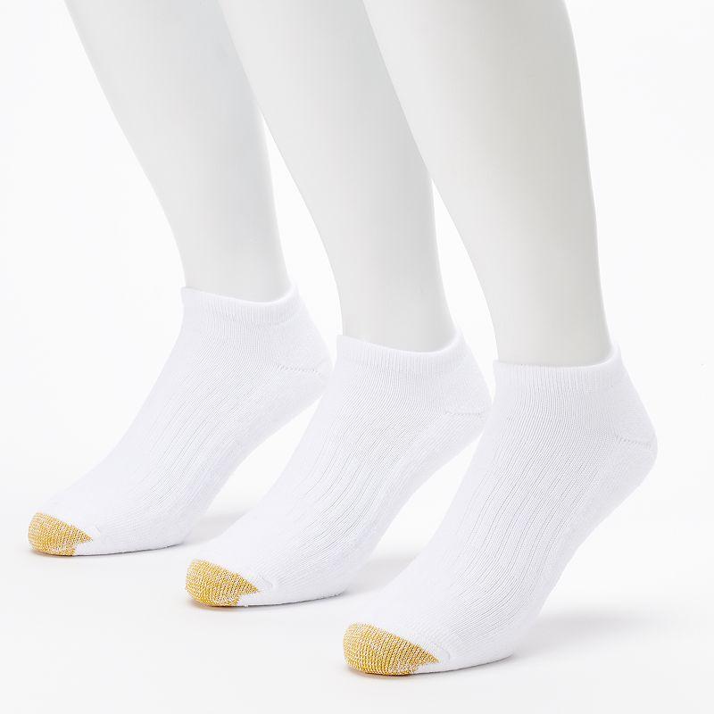 Men's GOLDTOE 3-pack Arch 360 Endurance No-Show Socks