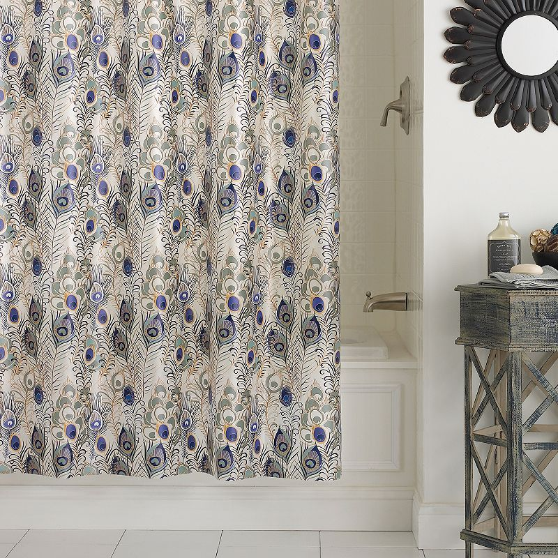 Excell Cleo PEVA Shower Curtain