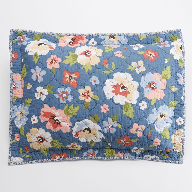 Home Classics® Sarah Floral Bouquet Sham - Standard