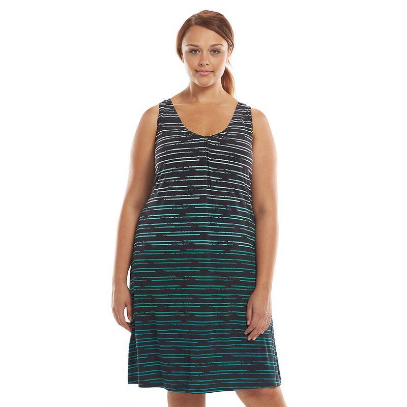Plus Size Tek Gear® Shirred Fitness Dress