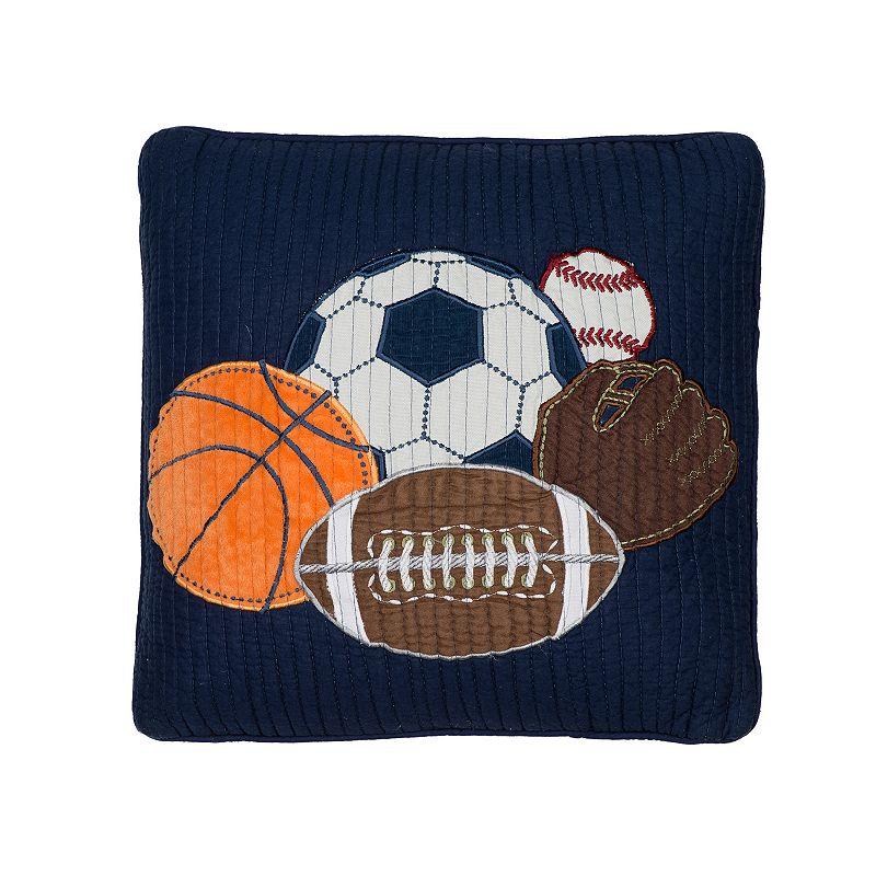Blue Sports Pillow Kohl s