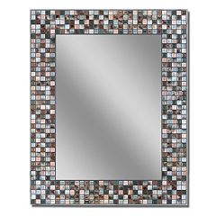 Head West Mosaic Wall Mirror by