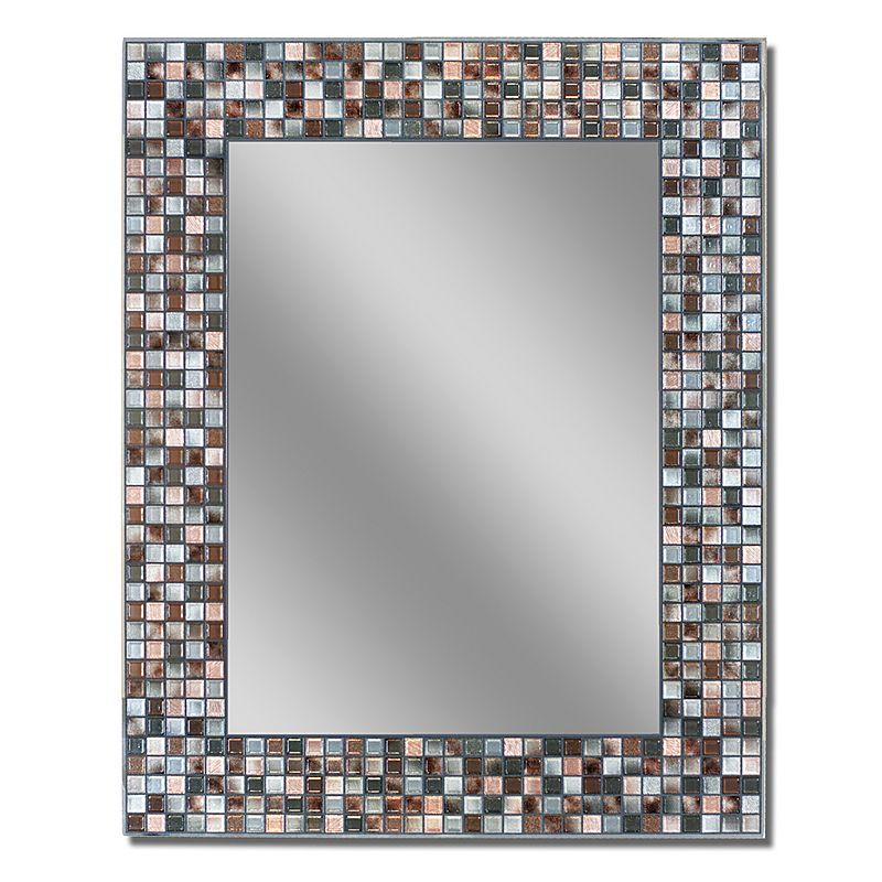Head West Mosaic Wall Mirror