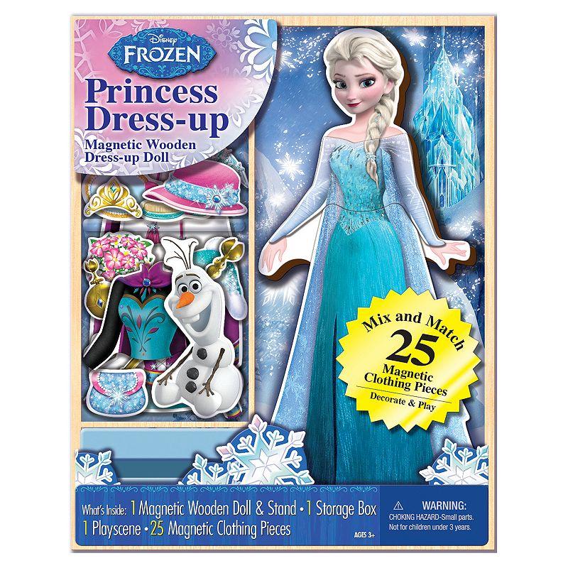 Disney's Frozen Elsa 25-Piece Magnetic Wooden Doll