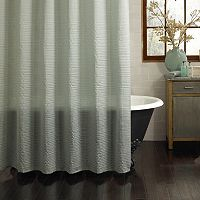 Excell Galloway Fabric Shower Curtain