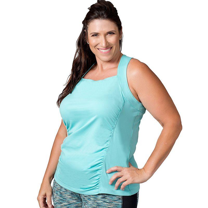 Plus Size Soybu Alecia Racerback Yoga Tank