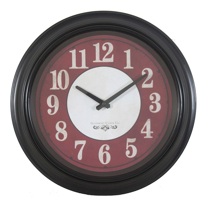 Decor Therapy Modern Glenmont Wall Clock