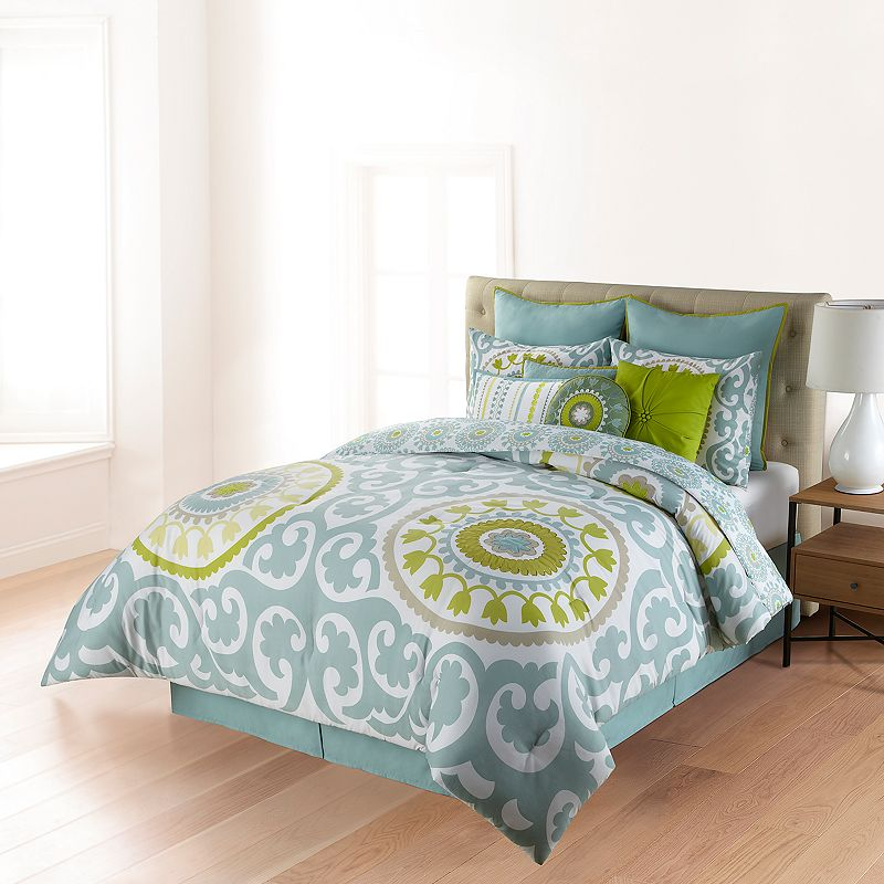 Grey cal king bedding kohl 39 s for Ibiza house classics