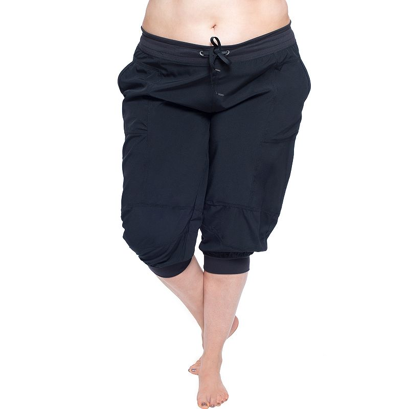 Plus Size Soybu Julie Capri Yoga Leggings