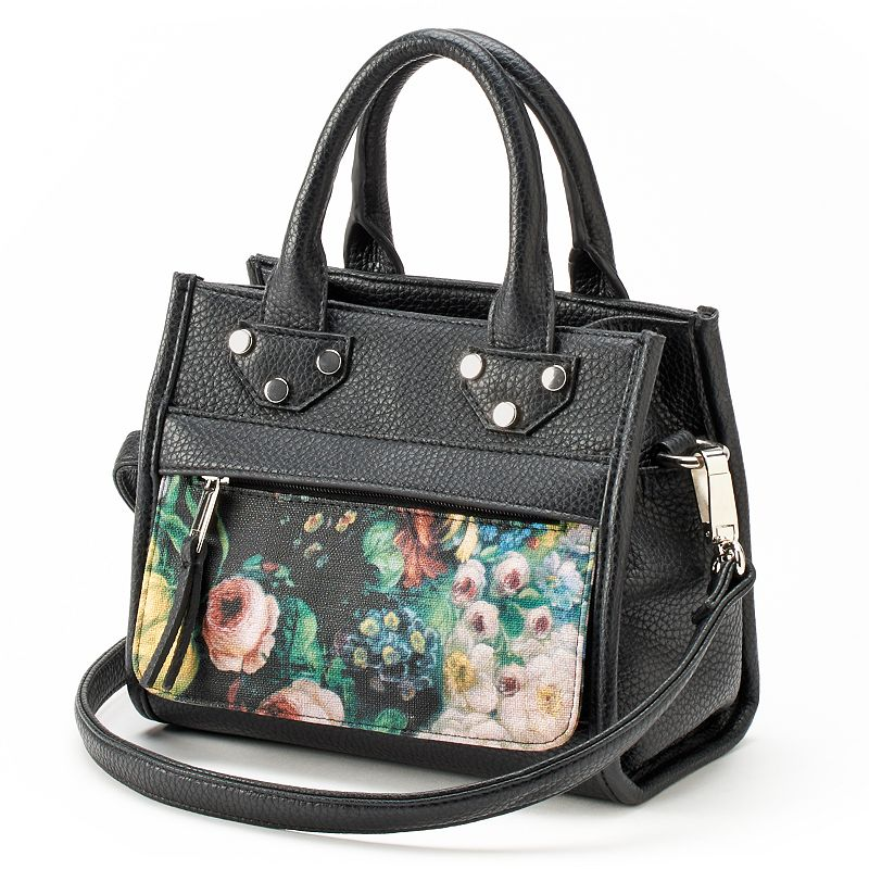 Dolce Girl Floral Convertible Satchel