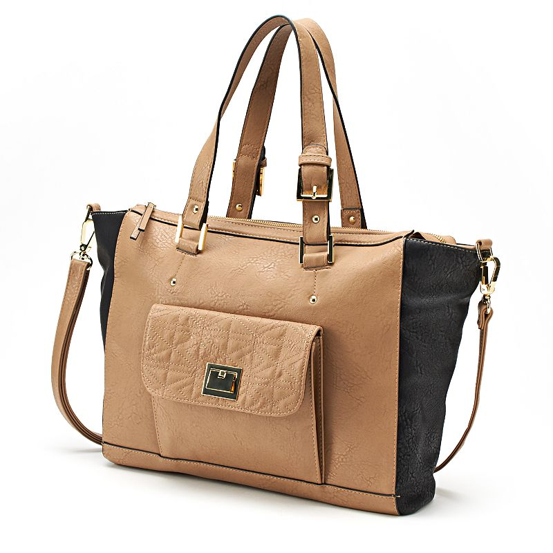 Dolce Girl Oversized Convertible Satchel
