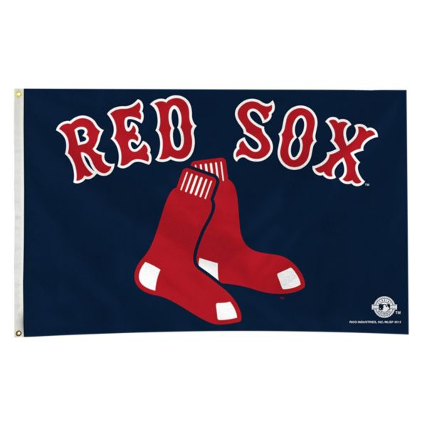 Boston Red Sox Navy Banner Flag
