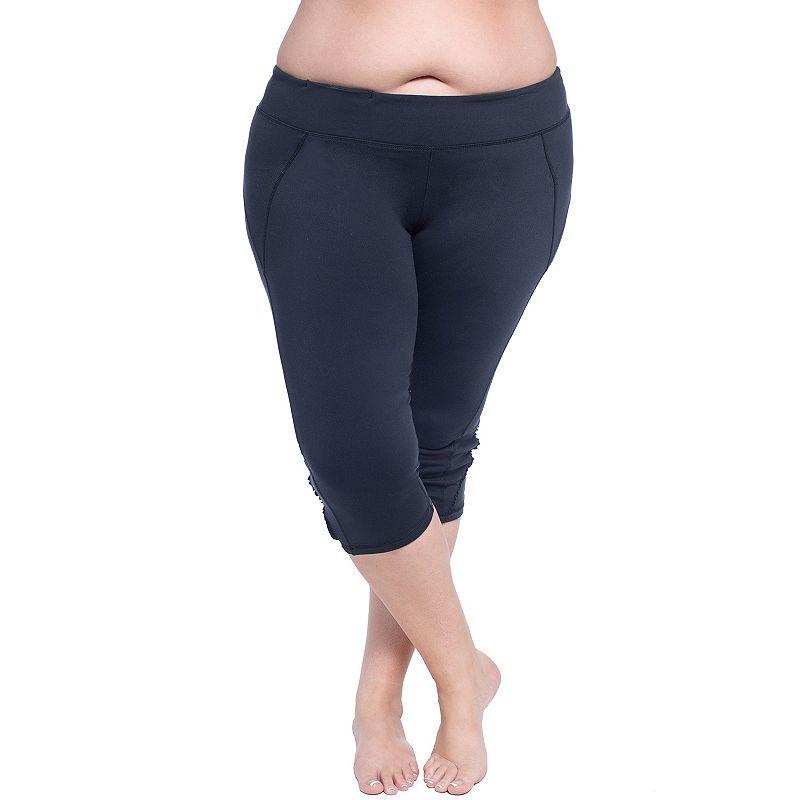 Plus Size Soybu Killer Caboose Cropped Yoga Leggings